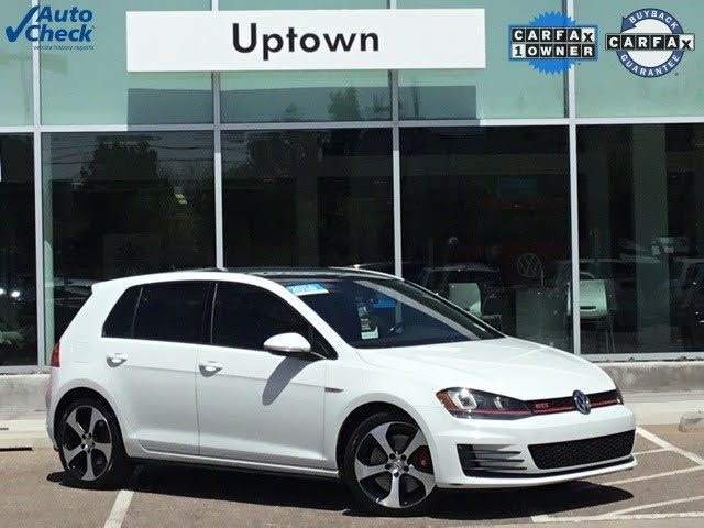 2016 Volkswagen GTI 2.0T Autobahn 4-Door FWD with Performance Package