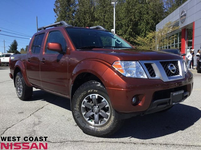 2017 Nissan Frontier PRO-4X Crew Cab 4WD