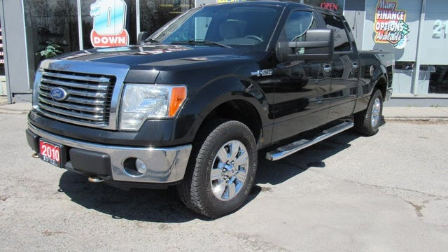 2010 Ford F-150 XLT SuperCrew LB 4WD