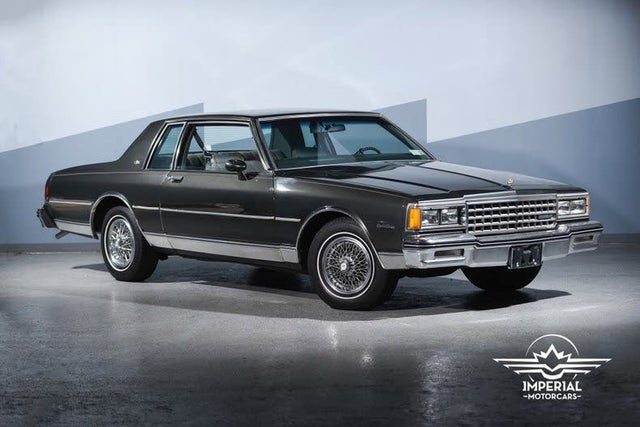 1984 Chevrolet Caprice Classic Coupe RWD