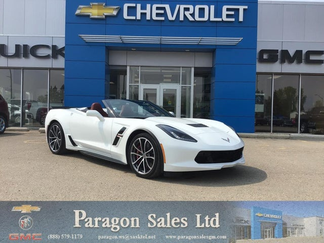 2017 Chevrolet Corvette Grand Sport 3LT Convertible RWD