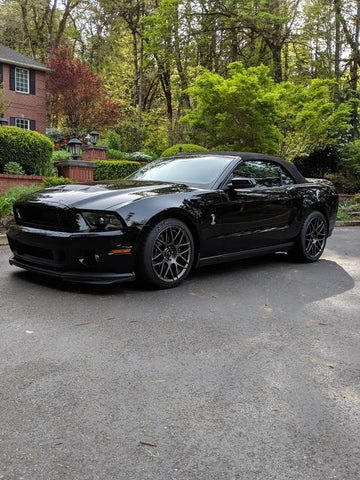2011 Ford Mustang Shelby GT500 Convertible RWD