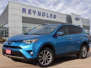 Toyota Dealers Okc >> Used 2016 Toyota Rav4 Hybrid For Sale In Oklahoma City Ok