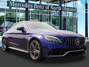 Used 2019 Mercedes-Benz C-Class C 63 S AMG Coupe RWD For