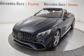 Used 2019 Mercedes Benz S Class Coupe S 63 Amg 4matic Cabriolet Awd