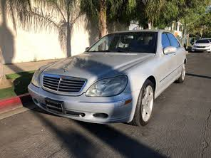 Used 2001 Mercedes Benz S Class S 500 For Sale Cargurus