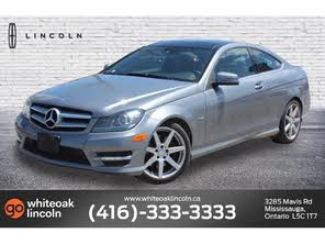 Used 2013 Mercedes Benz C Class For Sale In Toronto On Cargurus