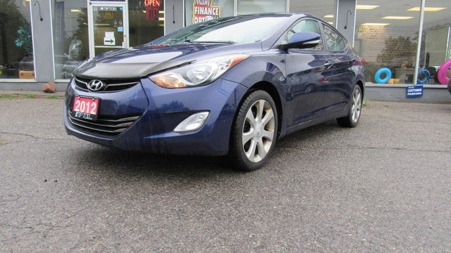 2012 Hyundai Elantra Limited Sedan FWD with Navigation