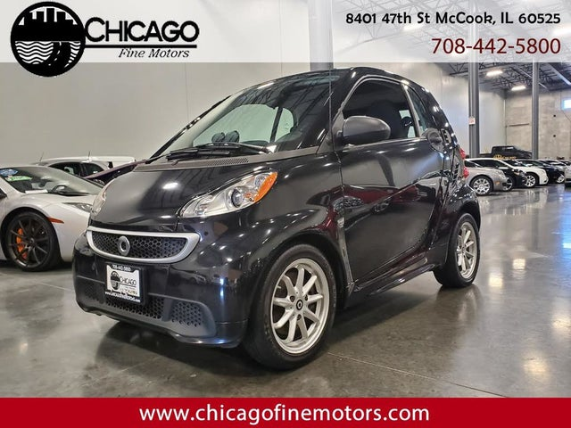 2016 smart fortwo electric drive hatchback RWD