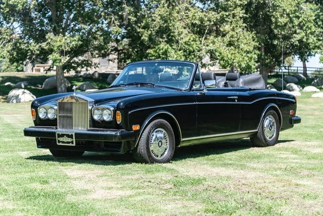 Used 1994 Rolls Royce Corniche For Sale Right Now Cargurus