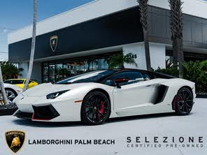 Used 2016 Lamborghini Aventador For Sale Cargurus