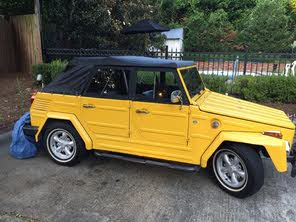 Volkswagen Thing For Sale >> Used 1973 Volkswagen Thing For Sale Cargurus