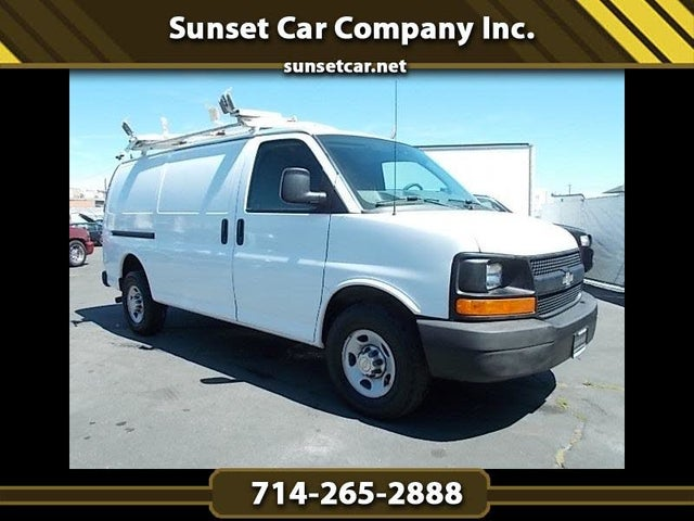 2010 Chevrolet Express Cargo 2500 Extended RWD with Upfitter