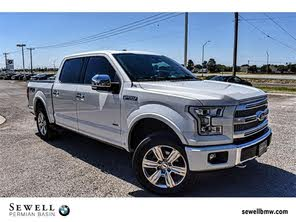 Ford Odessa Tx >> Used 2015 Ford F 150 Platinum For Sale Odessa Tx Cargurus