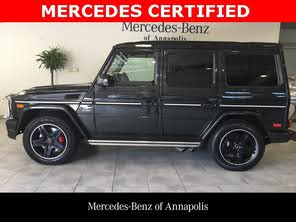 Used Mercedes Benz G Class For Sale Baltimore Md Cargurus