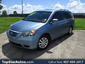 Used Honda Odyssey EX-L FWD with Navigation and DVD For Sale - CarGurus