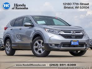 Used 2018 Honda CR-V EX-L AWD with Navigation For Sale