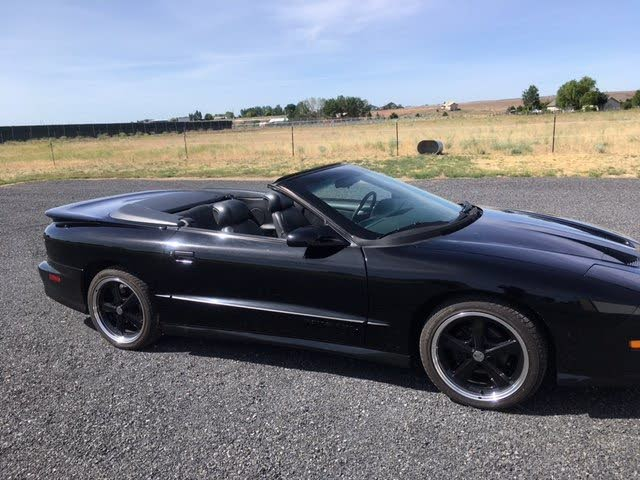 1995 Pontiac Firebird Trans Am Convertible