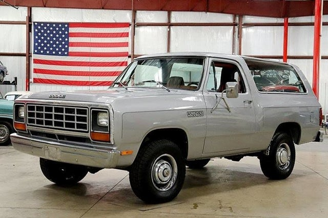 1982 Dodge Ramcharger 150 4WD