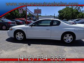 Used Chevrolet Monte Carlo For Sale Youngstown, OH - CarGurus