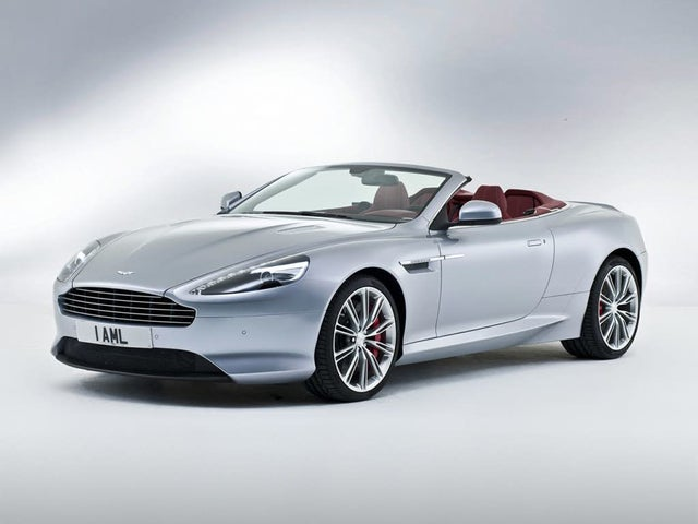 2015 Aston Martin DB9 Carbon Edition Volante Convertible RWD
