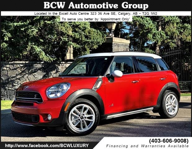 2015 MINI Countryman S ALL4 AWD