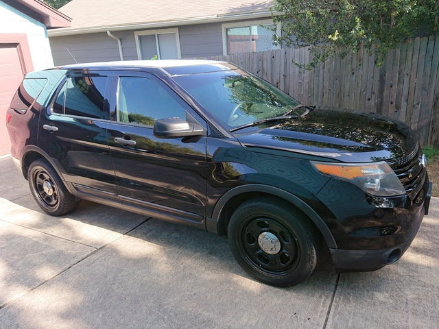 Used Ford Explorer Police Interceptor 4wd For Sale With Photos