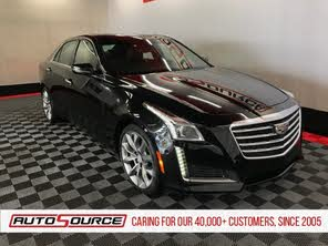 2017 Cadillac Cts 3.6 L Premium Luxury >> Used 2017 Cadillac Cts 3 6l Premium Luxury Awd For Sale