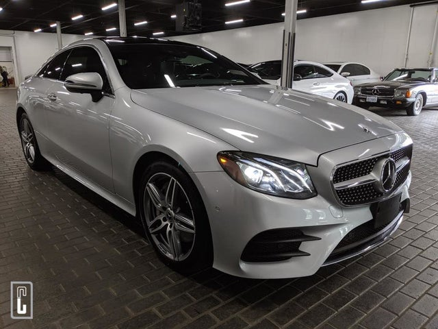 2019 Mercedes-Benz E-Class E 450 4MATIC Coupe AWD