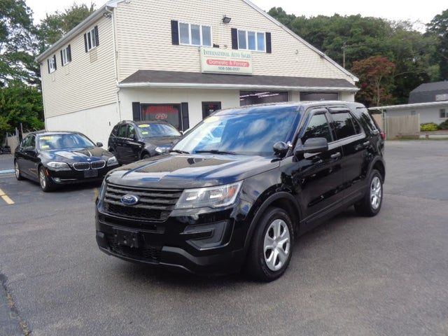 Used 2016 Ford Explorer Police Interceptor Awd For Sale With
