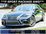 2015 Lexus IS 250 F Sport Crafted Line AWD