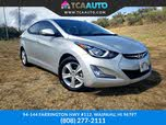 2016 Hyundai Elantra Value Edition Sedan FWD