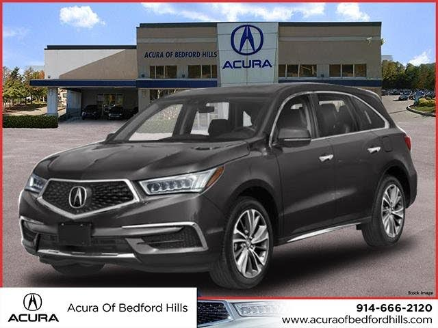 2020 acura mdx sh-awd with technology package for sale in