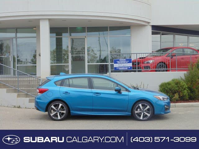 2019 Subaru Impreza 2.0i Sport-Tech Hatchback AWD with EyeSight Package