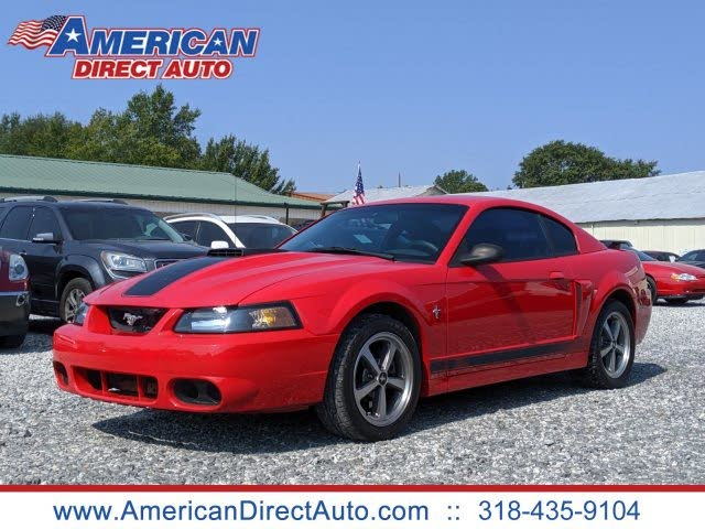 Used 2003 Ford Mustang Mach 1 Coupe Rwd For Sale With Photos Cargurus