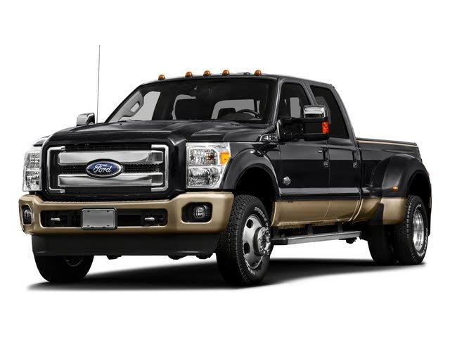 2016 Ford F-350 Super Duty King Ranch Crew Cab LB DRW 4WD