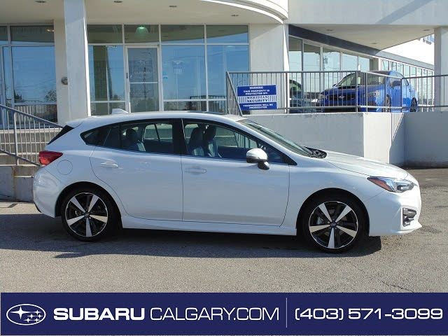 2019 Subaru Impreza Sport-tech Wagon AWD with Eyesight Package