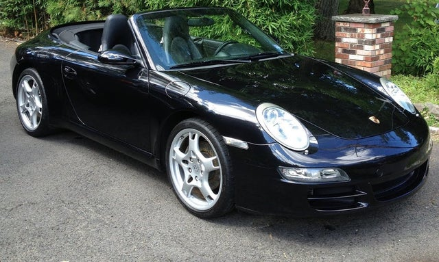 2008 Porsche 911 Carrera Convertible
