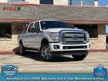 2014 Ford F-250 Super Duty Platinum Crew Cab 4WD