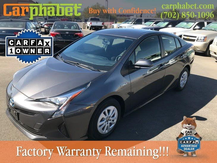2012-15 Toyota Prius AC and Heater Control Used Clean Silver
