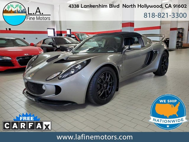 Used 2008 Lotus Elise For Sale With Photos Cargurus Images, Photos, Reviews