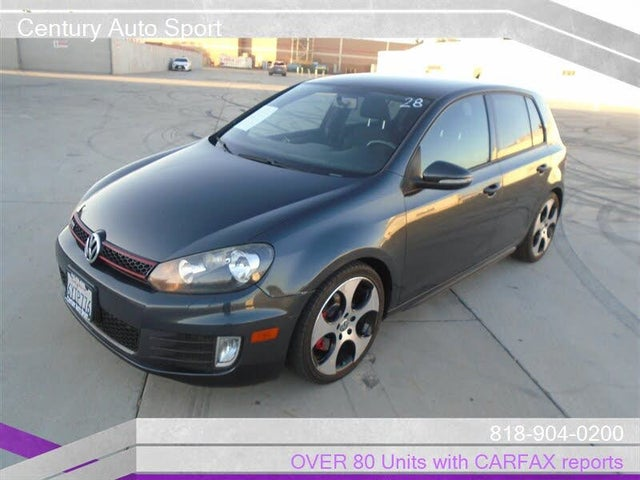 2013 Volkswagen GTI 2.0T 2-Door FWD with Convenience and Sunroof