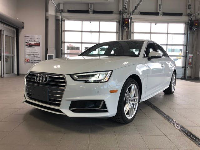 2018 Audi A4 2.0T quattro Technik Sedan AWD