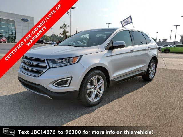 Car Dealerships In Hattiesburg Ms >> Used 2018 Ford Edge Titanium AWD for Sale (with Photos ...