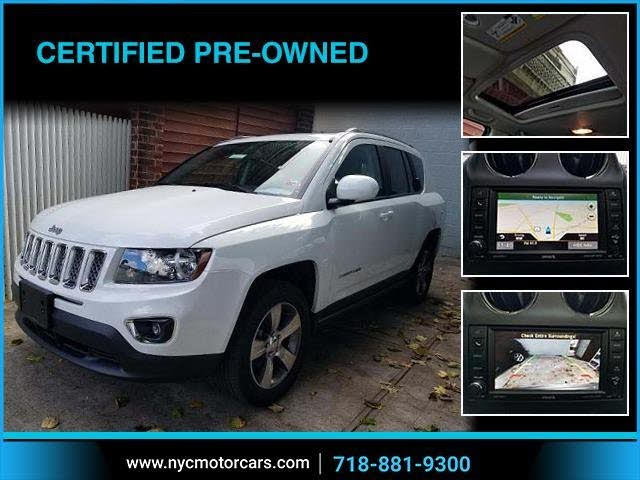 2017 Jeep Compass X High Altitude 4WD