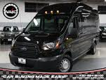 2015 Ford Transit Passenger 350 HD XLT Extended High Roof LWB DRW RWD with Sliding Passenger-Side Door