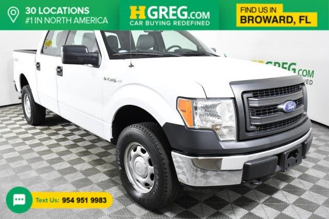 2014 Ford F-150 XL SuperCrew 4WD