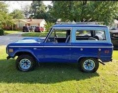 Used 1970 Ford Bronco For Sale Right Now Cargurus
