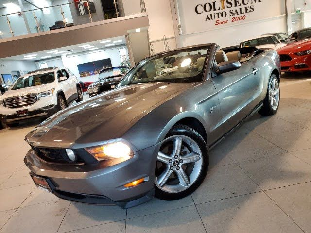 2010 Ford Mustang GT Convertible RWD