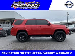 2017 Toyota 4Runner Trd Pro For Sale >> Used 2017 Toyota 4runner Trd Pro 4wd For Sale With Photos